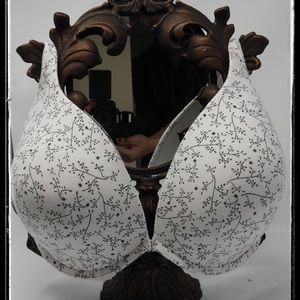 Cacique Cotton Padded T-Shirt Bra 40G 40 DDDD